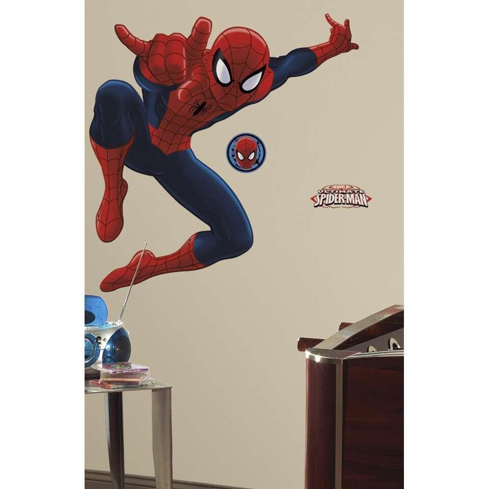 RoomMates muursticker Spiderman - 2 vel - 46x101 cm - Leen Bakker
