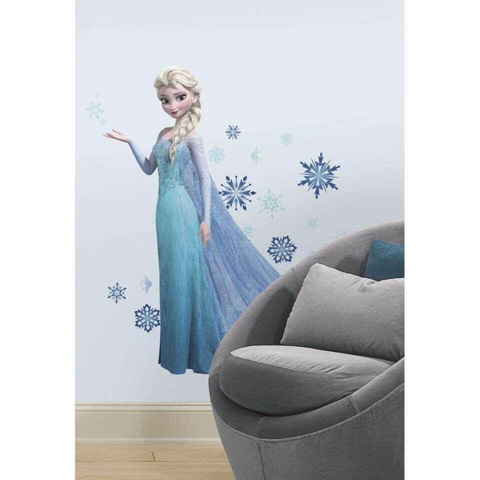 RoomMates muursticker Frozen Elsa - Leen Bakker