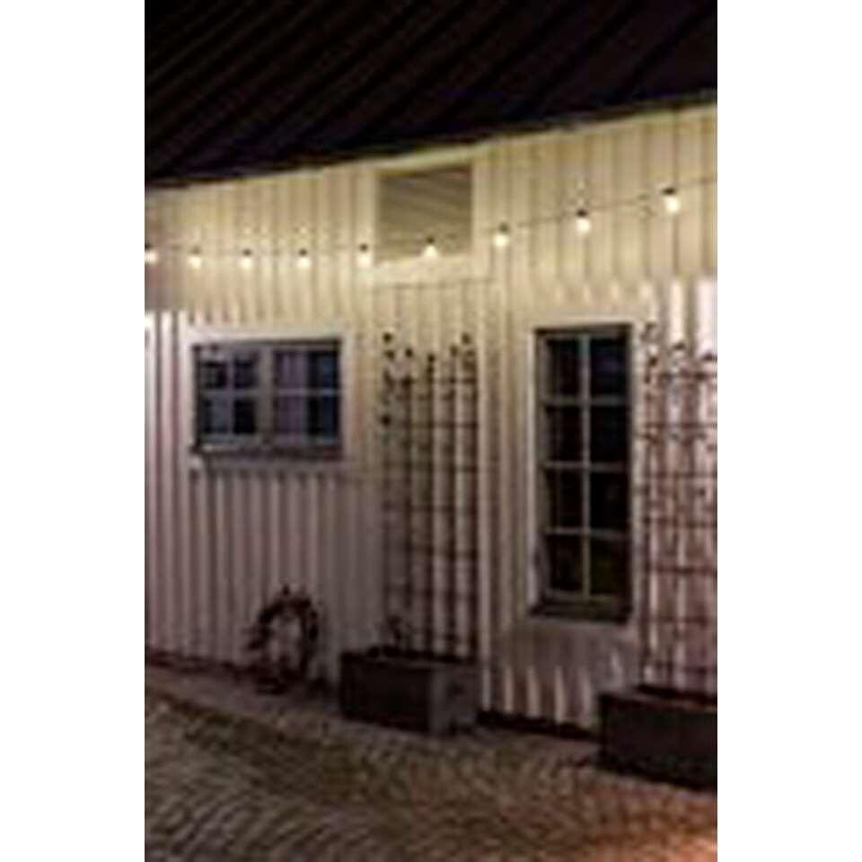 Konstsmide LED snoer - binnen/buiten - 10 lampjes - wit - Leen Bakker