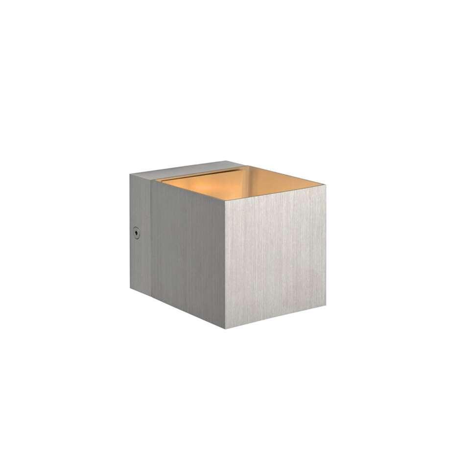 Lucide wandlamp Devi – aluminium – Leen Bakker