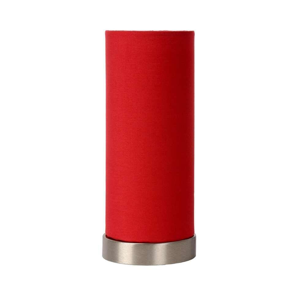 Lucide tafellamp Tubi - rood - Leen Bakker