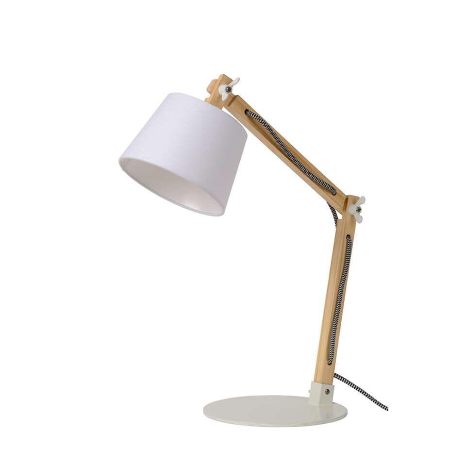 Lucide bureaulamp Olly – wit – Leen Bakker