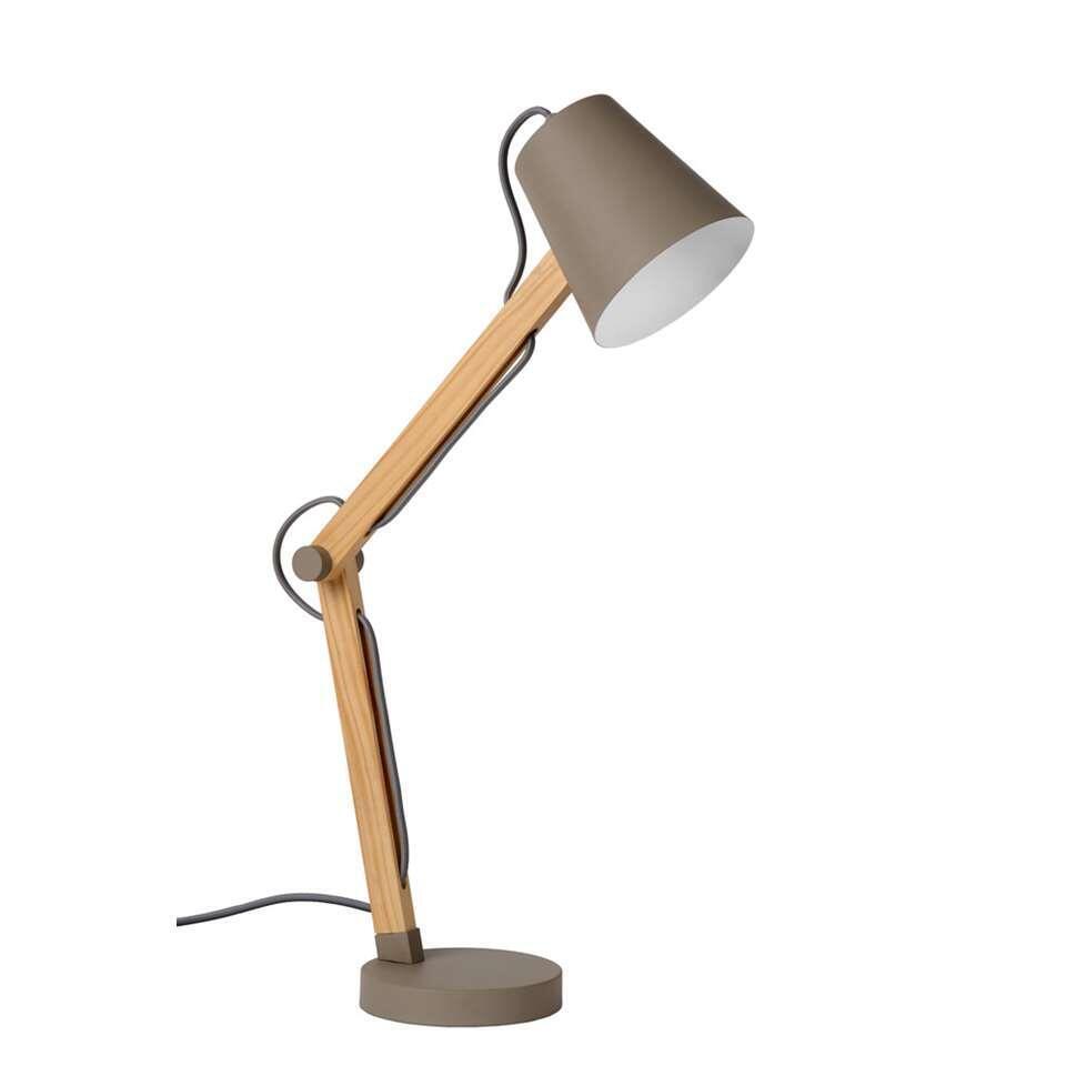 Lucide bureaulamp Tony - taupe