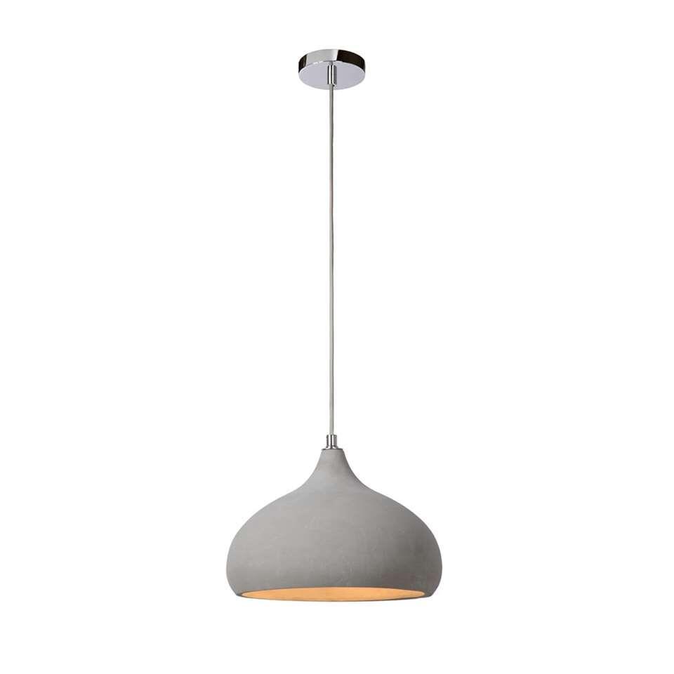 Lucide hanglamp Solo – Ø28 cm – beton – Leen Bakker