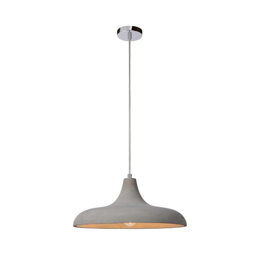 Lucide hanglamp Solo - Ø40 cm - beton - Leen Bakker