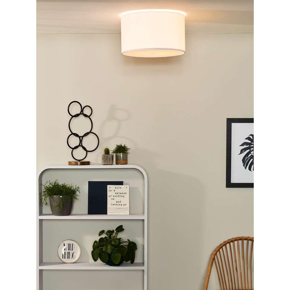 Het witte Coral-plafondlicht is een vrolijke en speelse lichtbron. Plafondlicht Coral is door zijn eenvoudige design implementeerbaar in elke woning, en zelfs in elke ruimte.