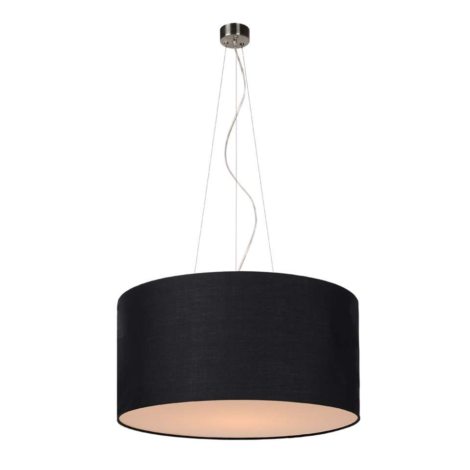 Lucide hanglamp Coral - Ø40 cm - zwart - Leen Bakker