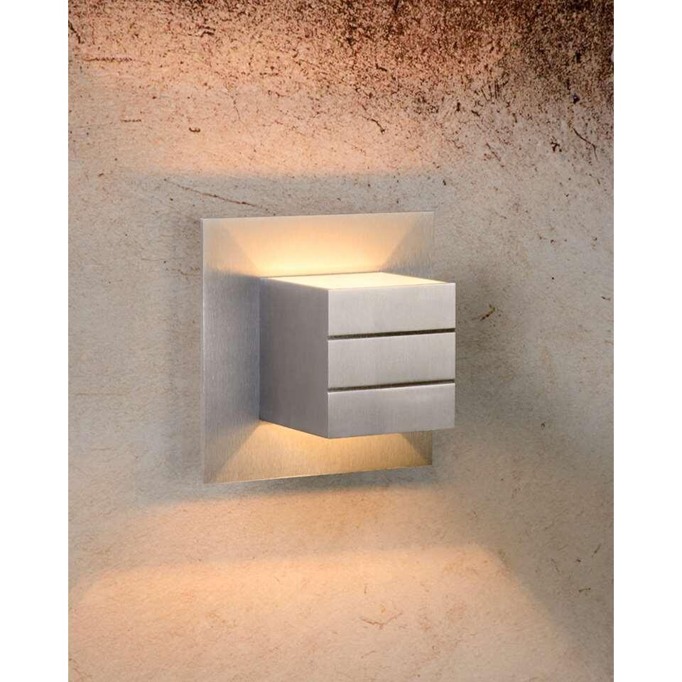 Lucide wandlamp Bok - 1 lamp - mat chroom