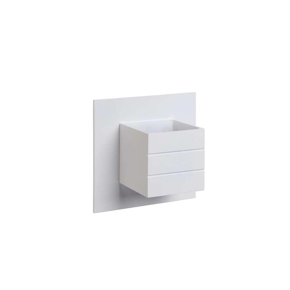 Lucide wandlamp Bok - 1 lamp - wit - Leen Bakker