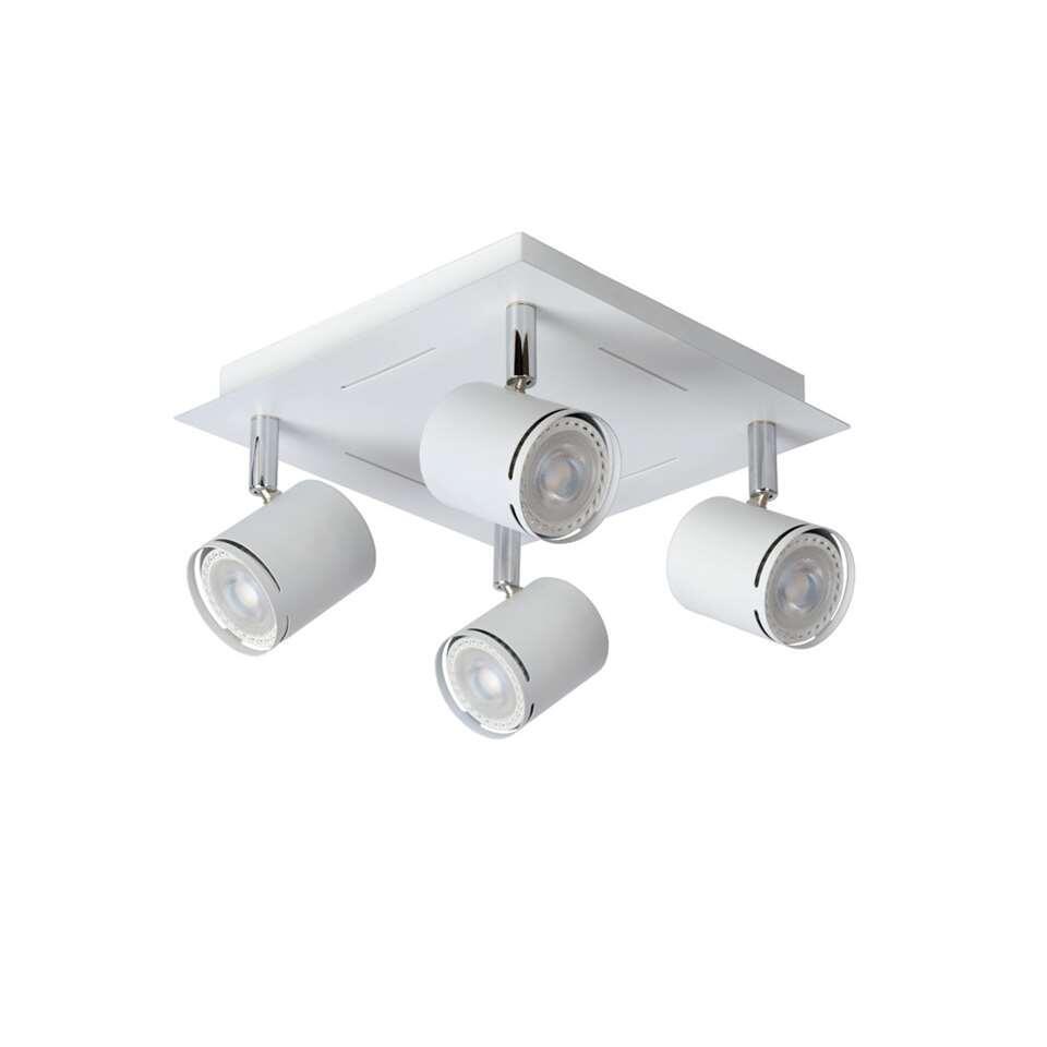 De opbouwspot Rilou 4-lichts LED van Lucide is 100% eenvoud en behoort hierdoor echt tot de categorie tijdloos design. De Rilou is verkrijgbaar in een 1, 2, 3 en een 4-lichts variant.