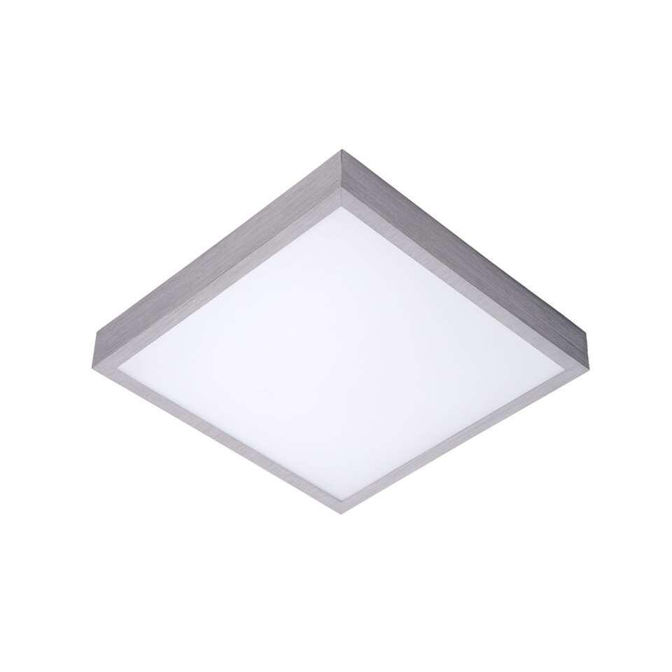 Lucide plafonnière Casper II – 42 cm – mat chroom – Leen Bakker