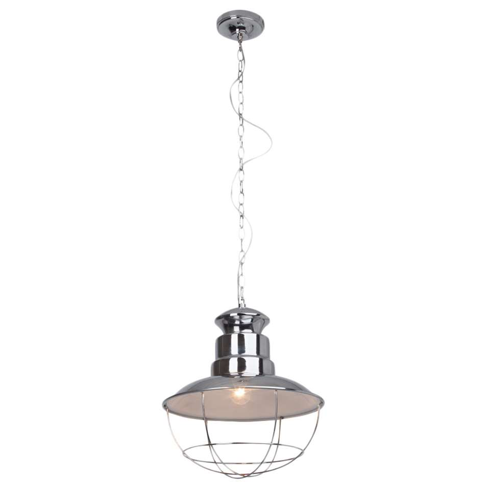 Brilliant hanglamp Martu - chroom - Leen Bakker