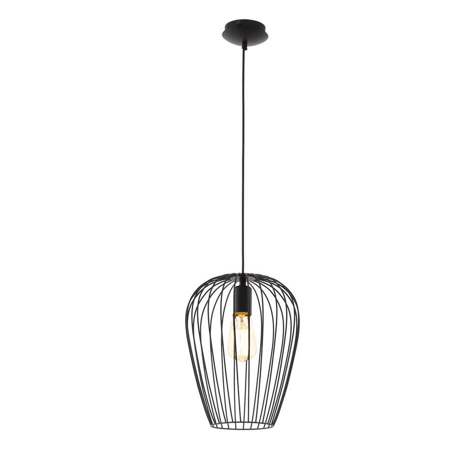 EGLO hanglamp Newtown 1 - zwart - Leen Bakker