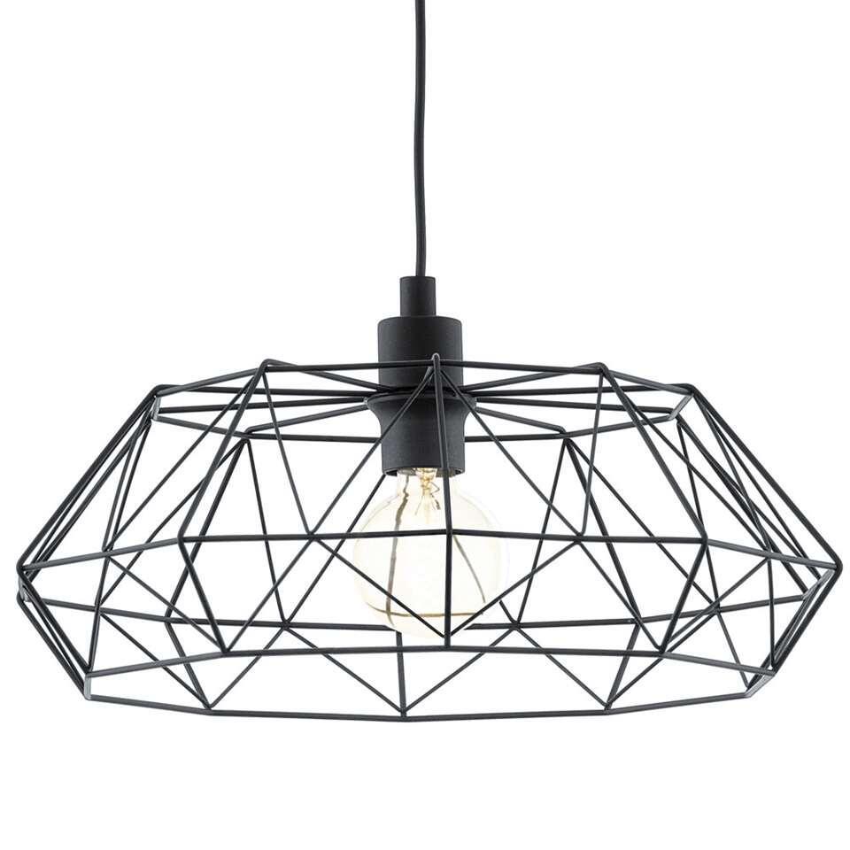EGLO hanglamp Carlton 2 – zwart – Leen Bakker
