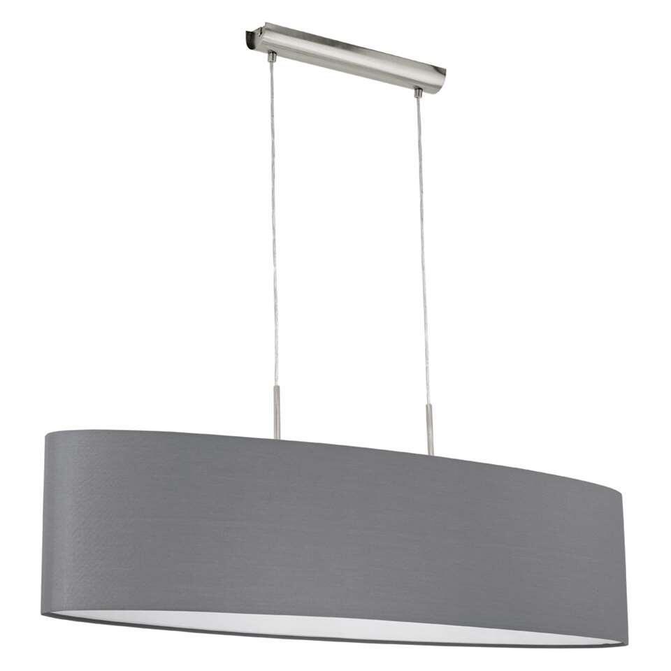 EGLO hanglamp Pasteri ovaal - grijs - Leen Bakker