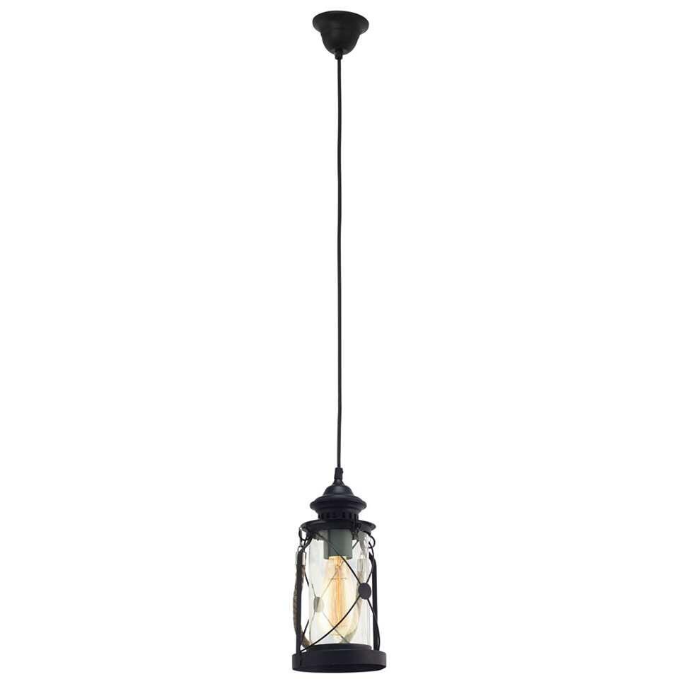 EGLO hanglamp Bradford - zwart - Leen Bakker