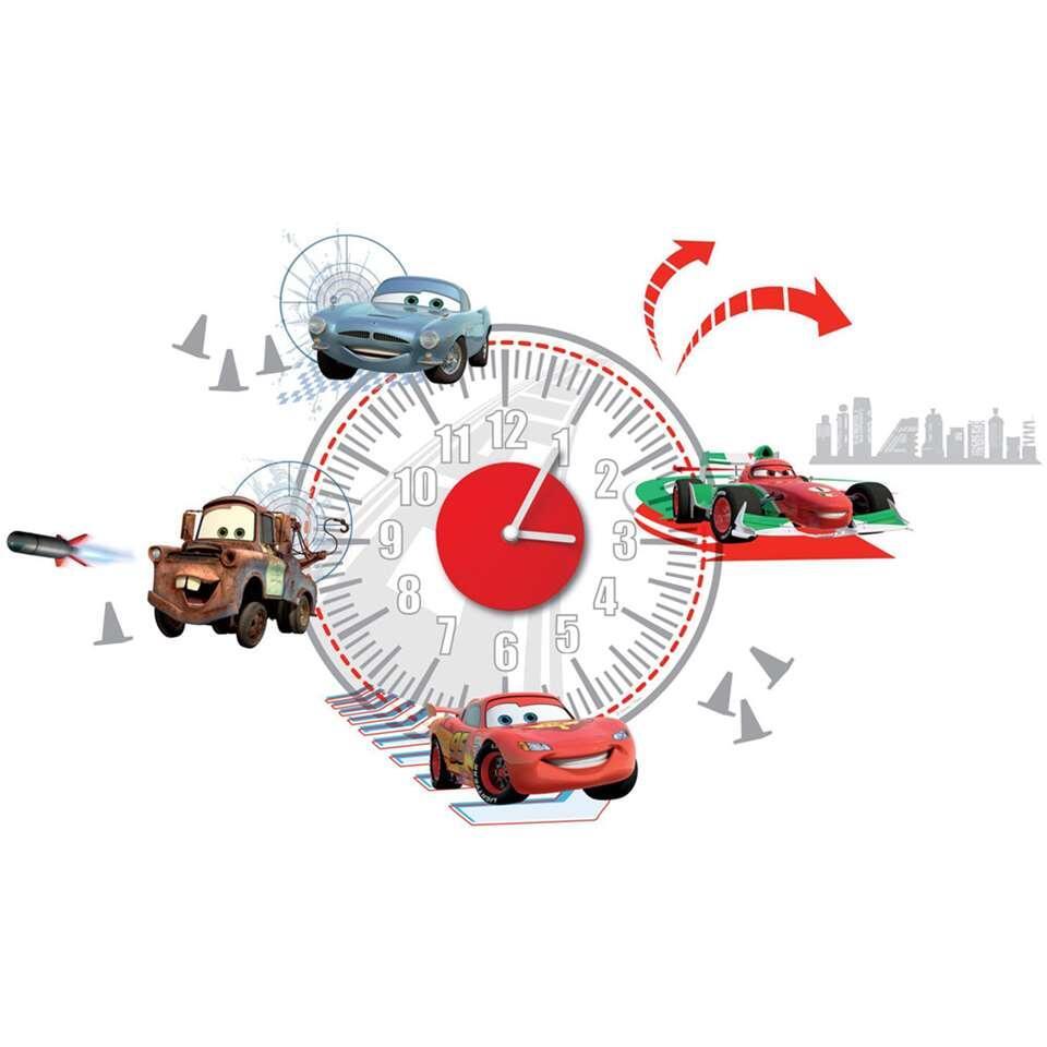 Graham & Brown muursticker Disney Cars klok - Leen Bakker