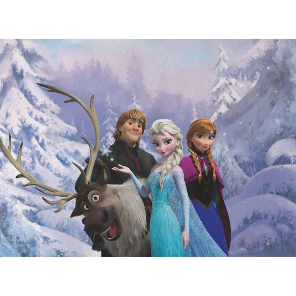 Graham & Brown digitaal behang Frozen - 276x190 cm - Leen Bakker