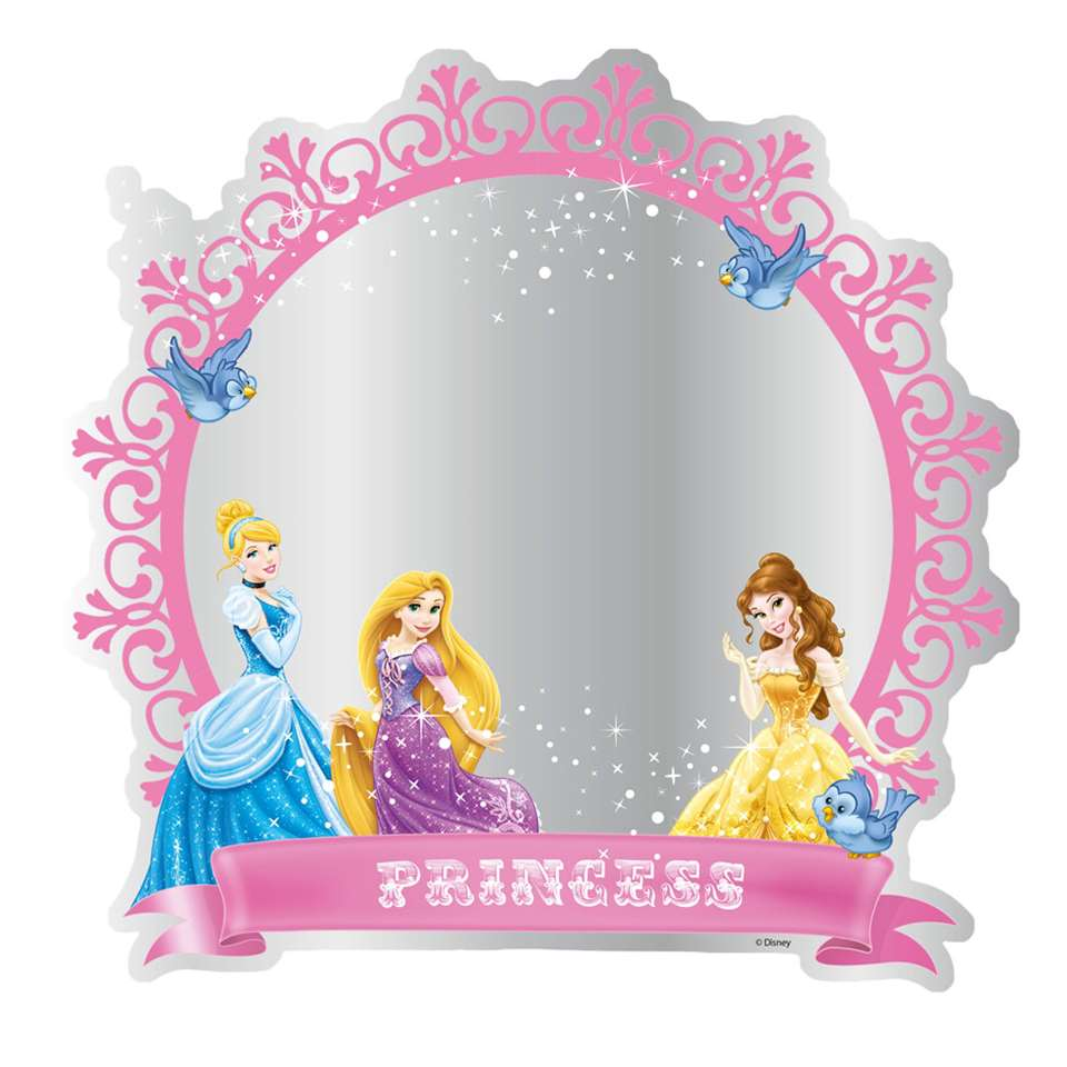 Graham & Brown spiegel Disney Princess - plexiglas - Ø30 cm