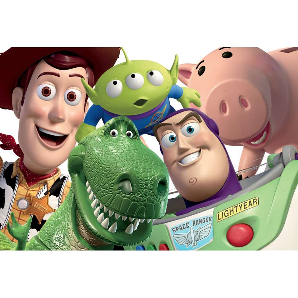 Graham & Brown digitaal behang Toy Story - 276x190 cm - Leen Bakker