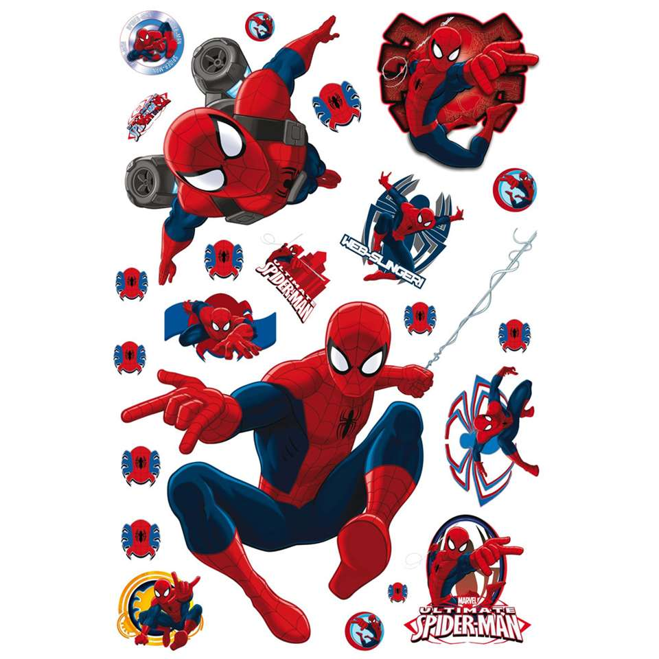 Graham & Brown maxi muursticker Spiderman (23 stuks)