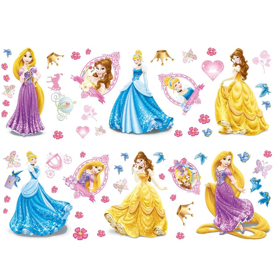 Graham & Brown muursticker Disney Princess (37 stuks)