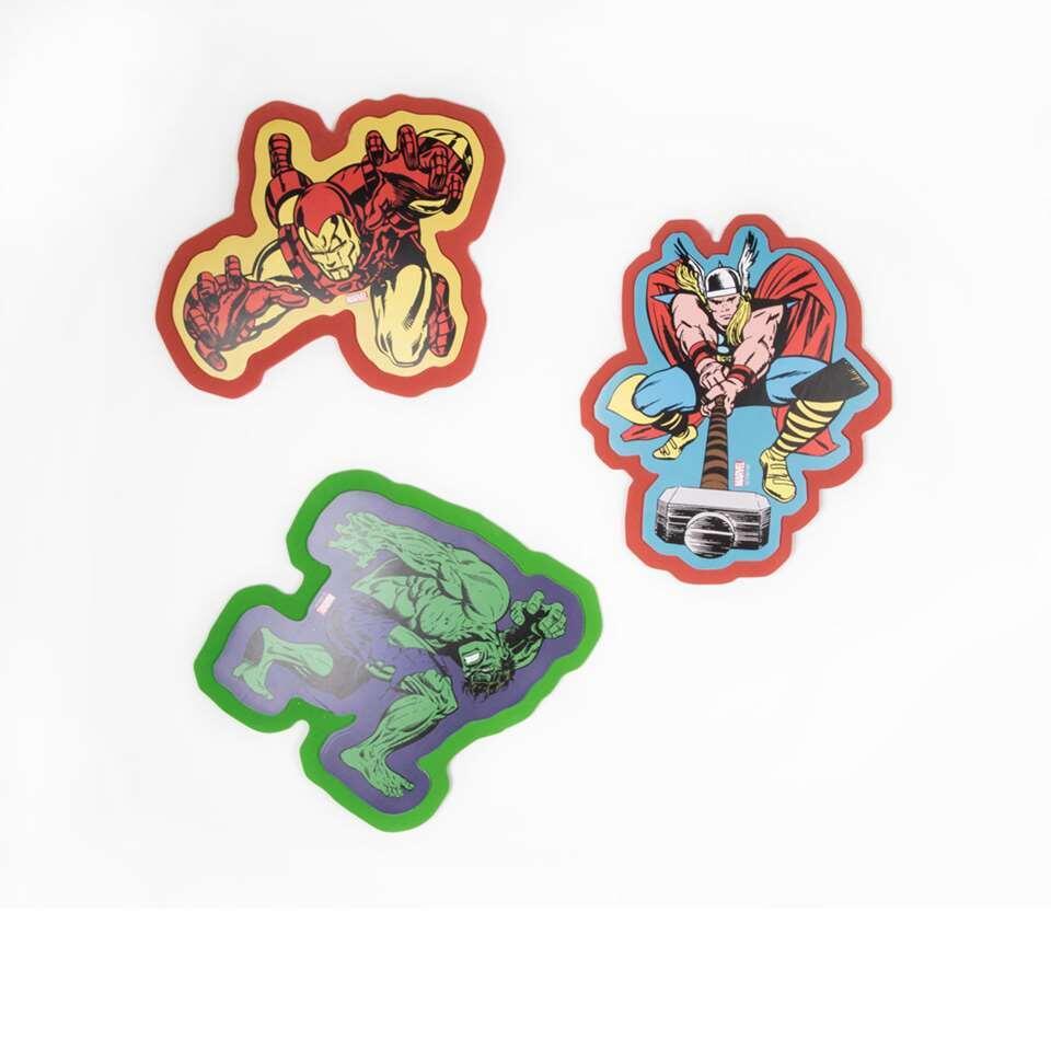 Art for the Home foam muurstickers Marvel Comics - 3 stuks
