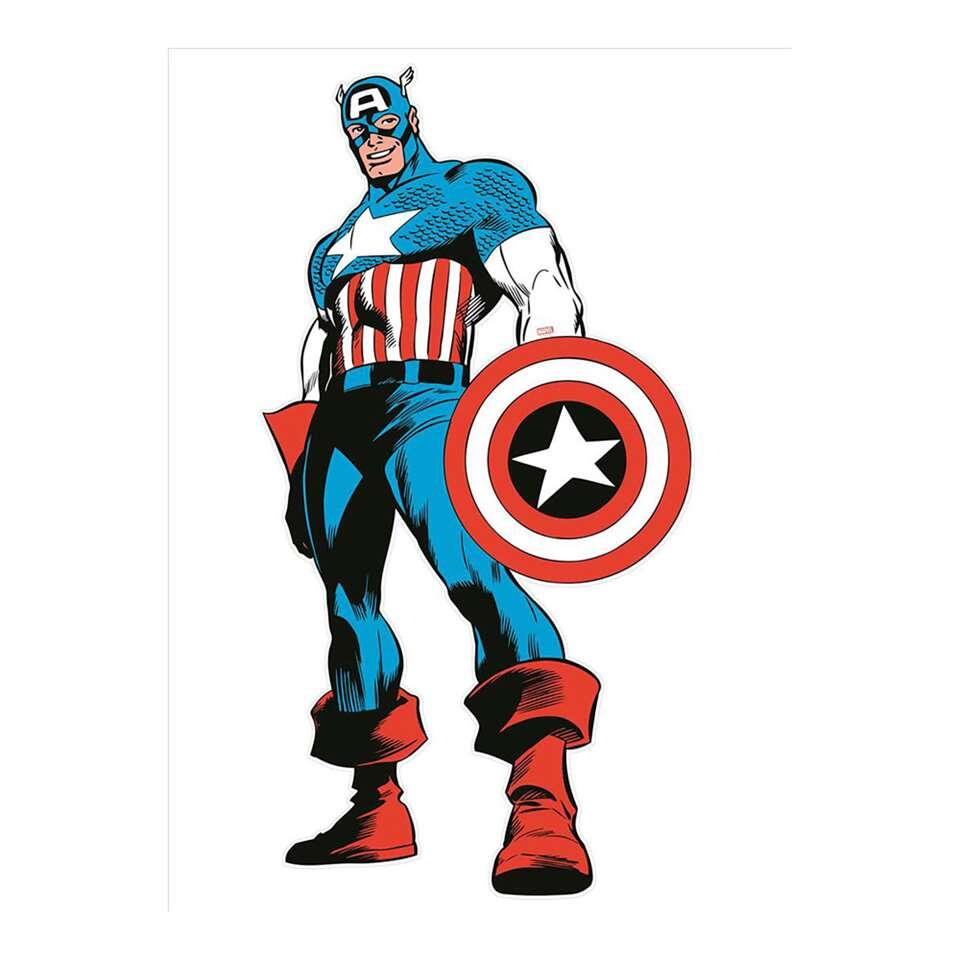 Graham & Brown muursticker Marvel Comics Captain America - 151x77 cm