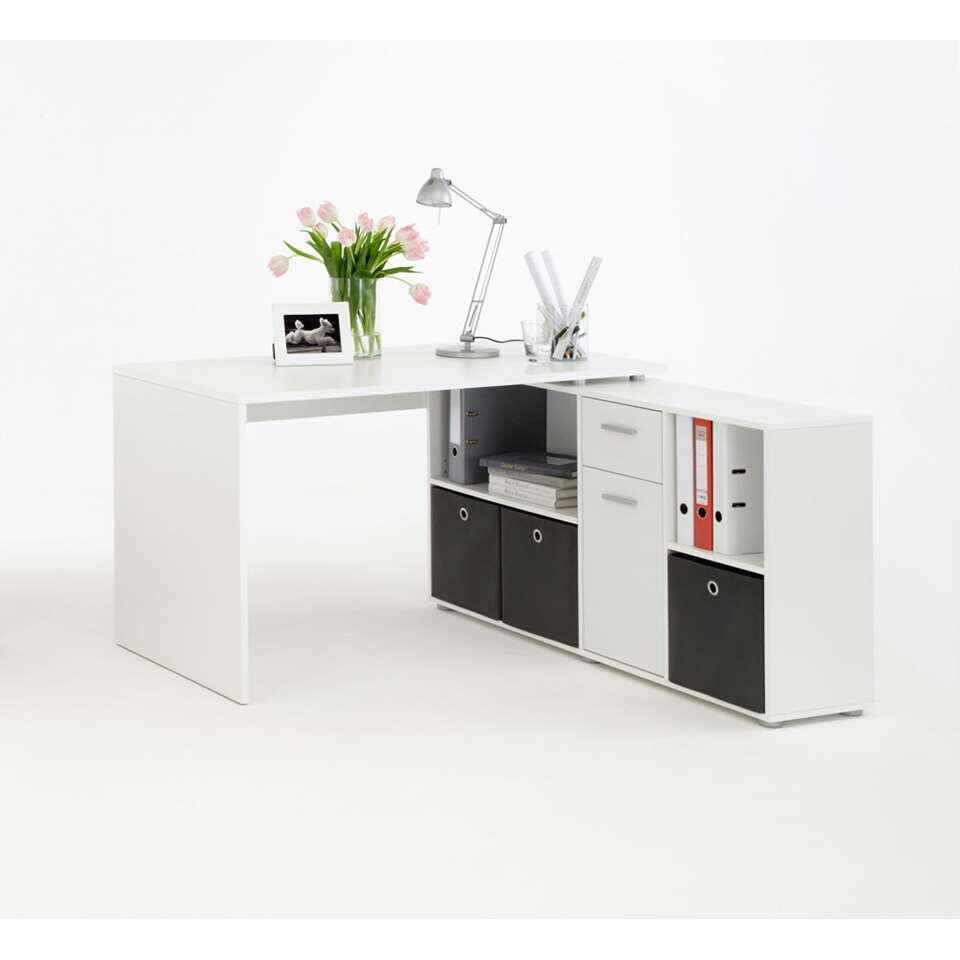 Bureau Lex - wit - 66.5x136x74 cm