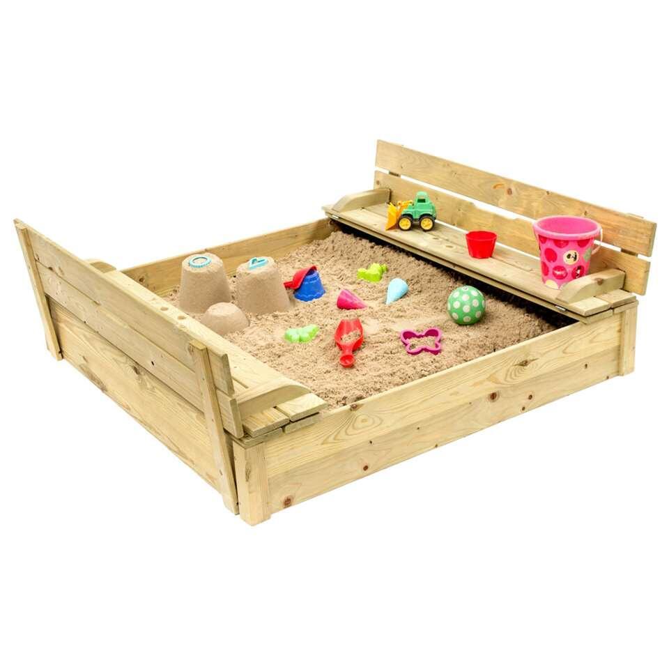 Outdoor Life zandbak Cupcake - blank - 24x118x118 - Leen Bakker