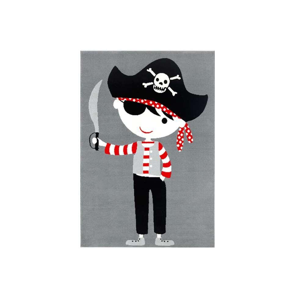 Vloerkleed Piraat - multikleur - 120x170 cm