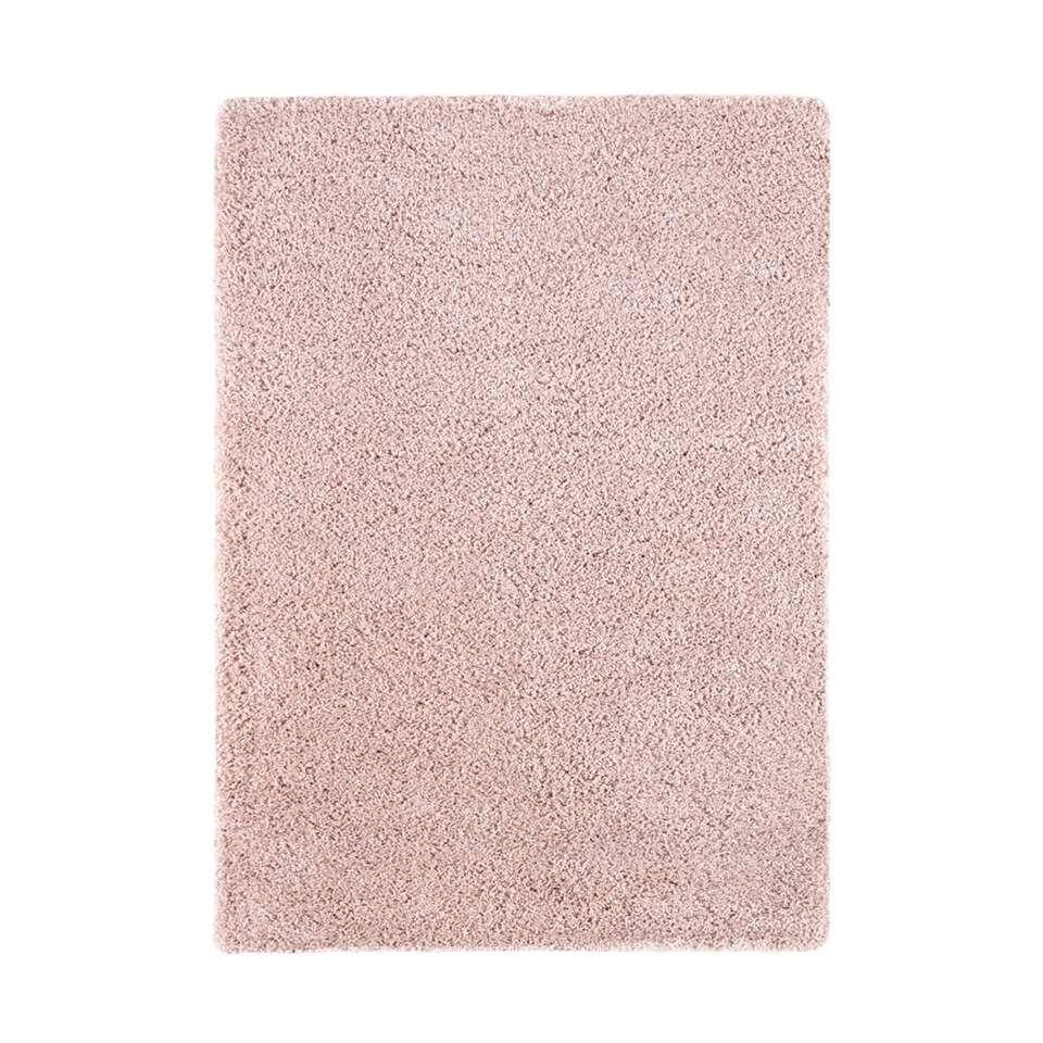 Vloerkleed Norell Shaggy Roze 200x290 Cm
