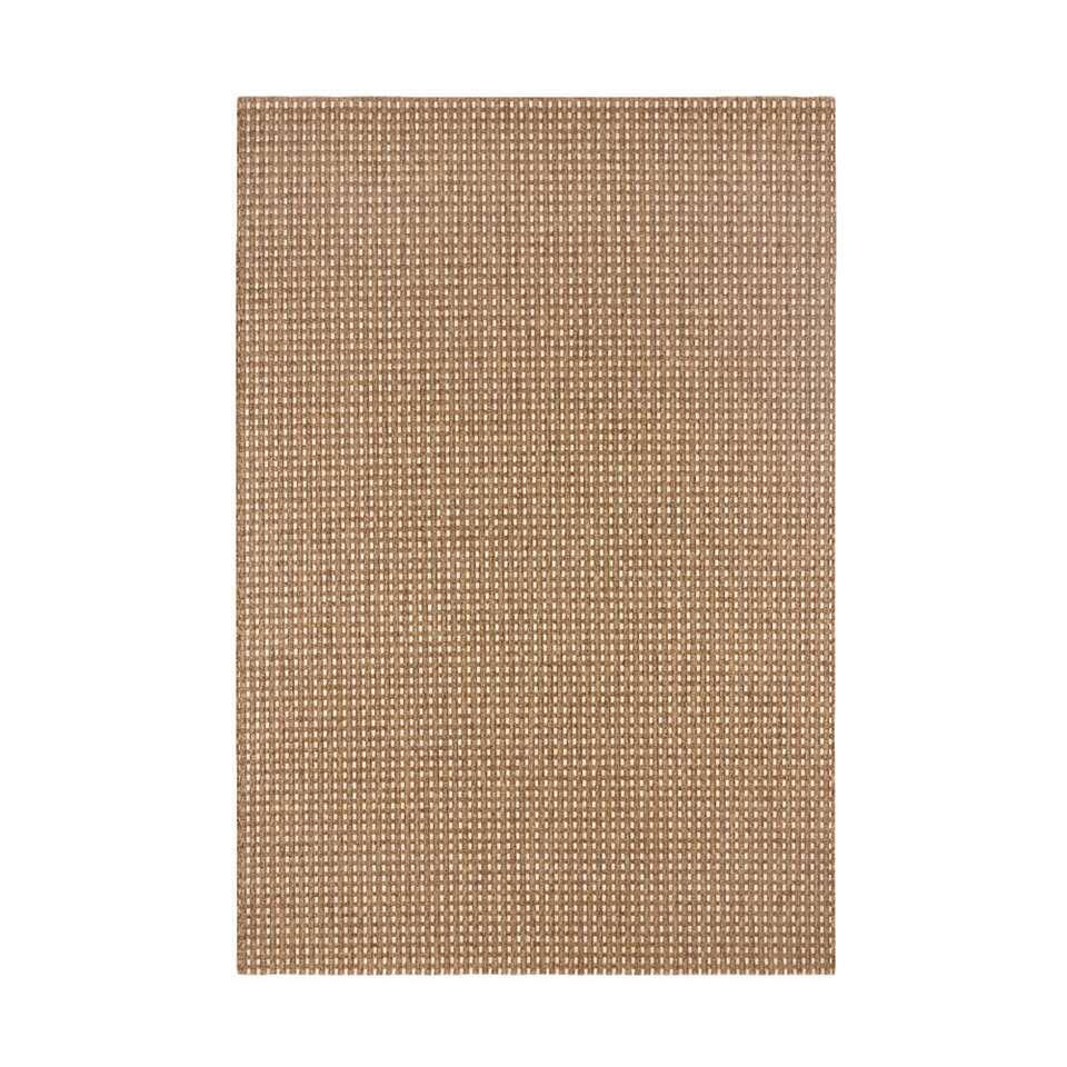 Vloerkleed Pavia - bruin - 120x170 cm - Leen Bakker