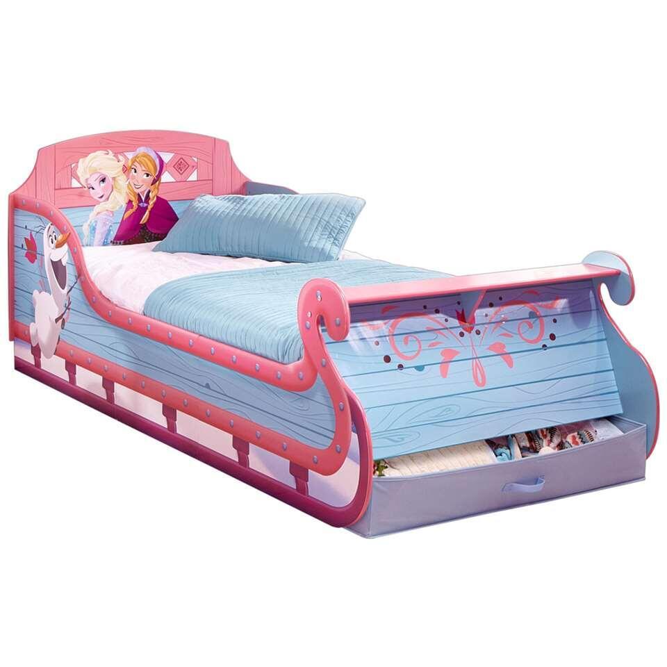 Kinderbed Disney Frozen - blauw - 80x96x210 cm - Leen Bakker