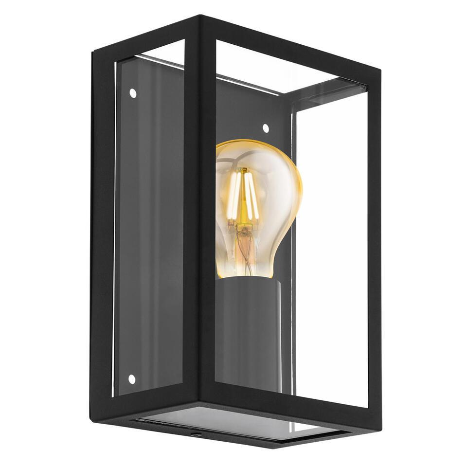 EGLO wandlamp Alamonte - zwart - Leen Bakker