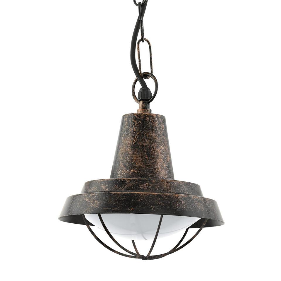 EGLO hanglamp Colindres - antiek koper