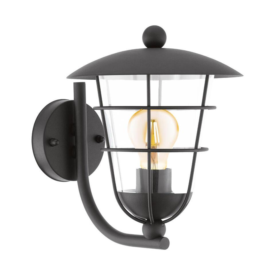 EGLO wandlamp Pulfero staand - zwart
