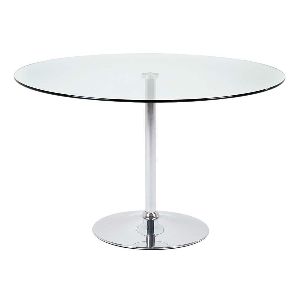 Eetkamertafel Brovst glas - Ø100x75 cm - Leen Bakker