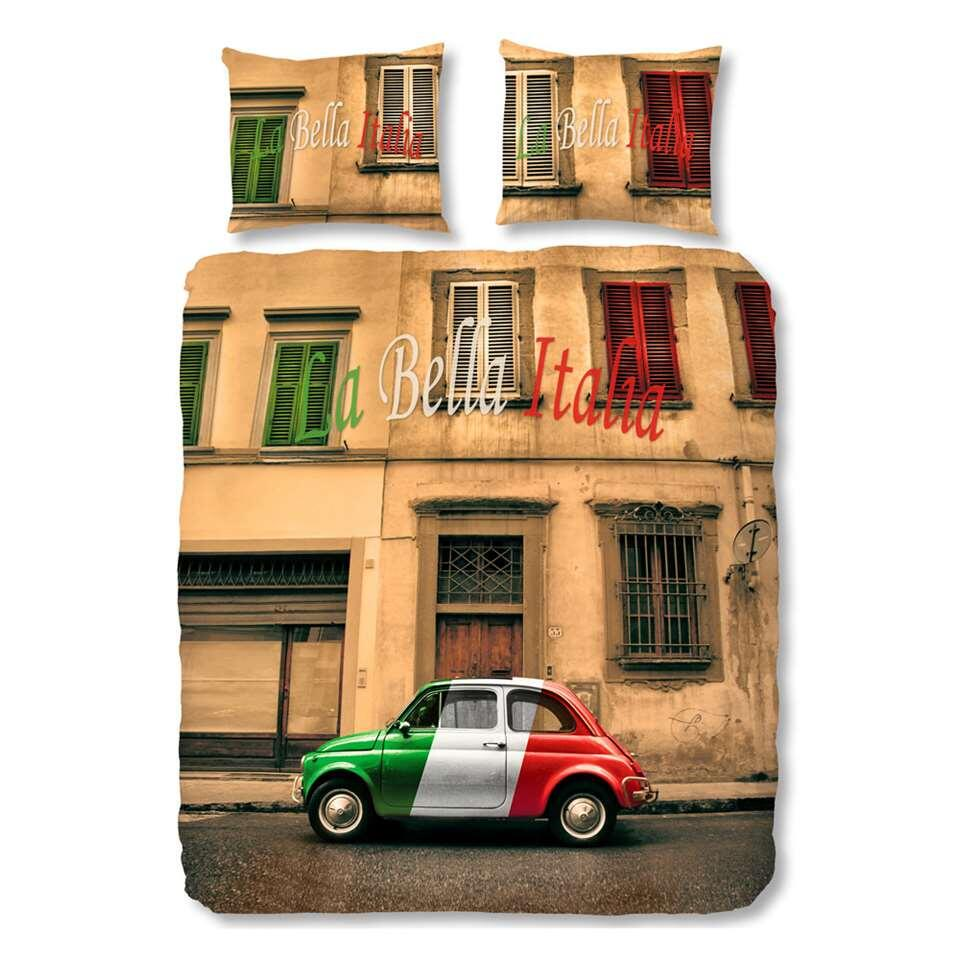Good Morning dekbedovertrek Fiat 500 - multikleur - 240x200/220 cm - Leen Bakker