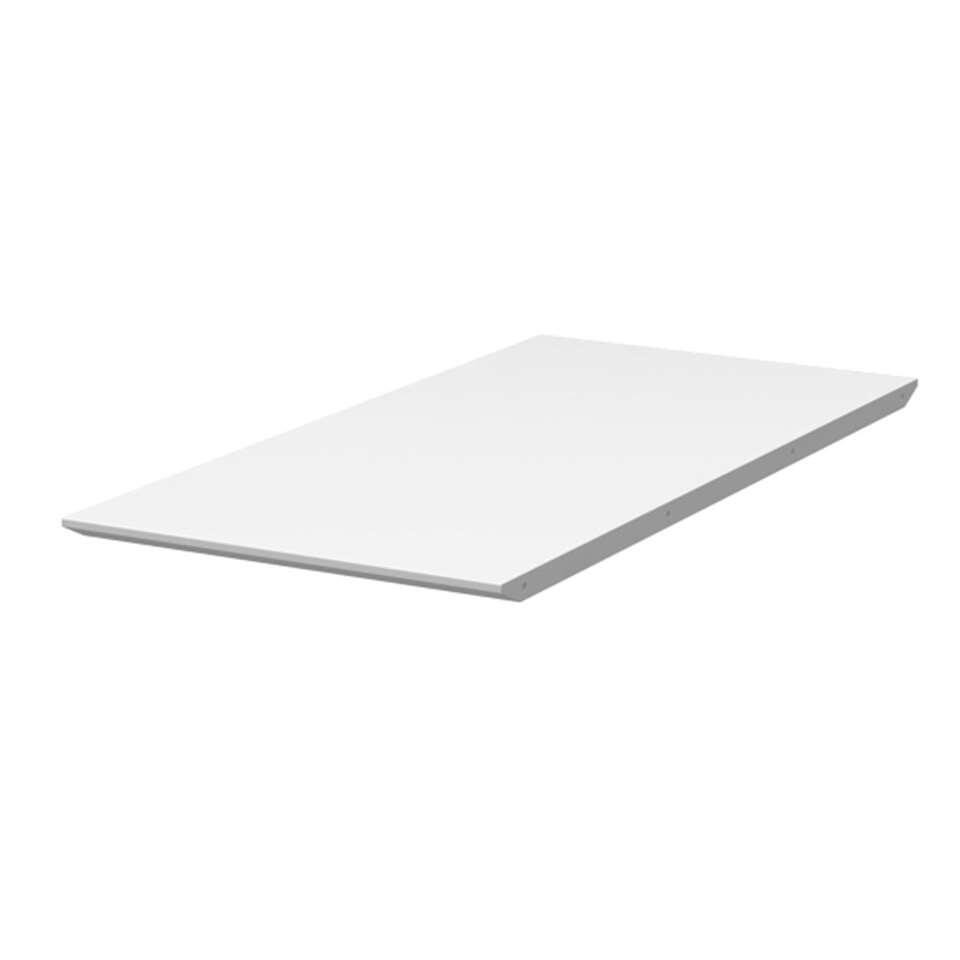 Tenzo verlengstuk eetkamertafel Bess - wit - 45x95 cm - Leen Bakker