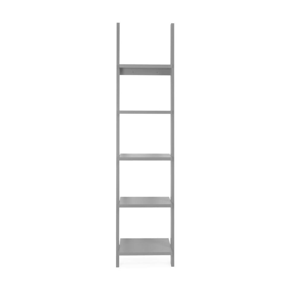 Tenzo wandrek Strada - grijs - 188x45x35 cm - Leen Bakker