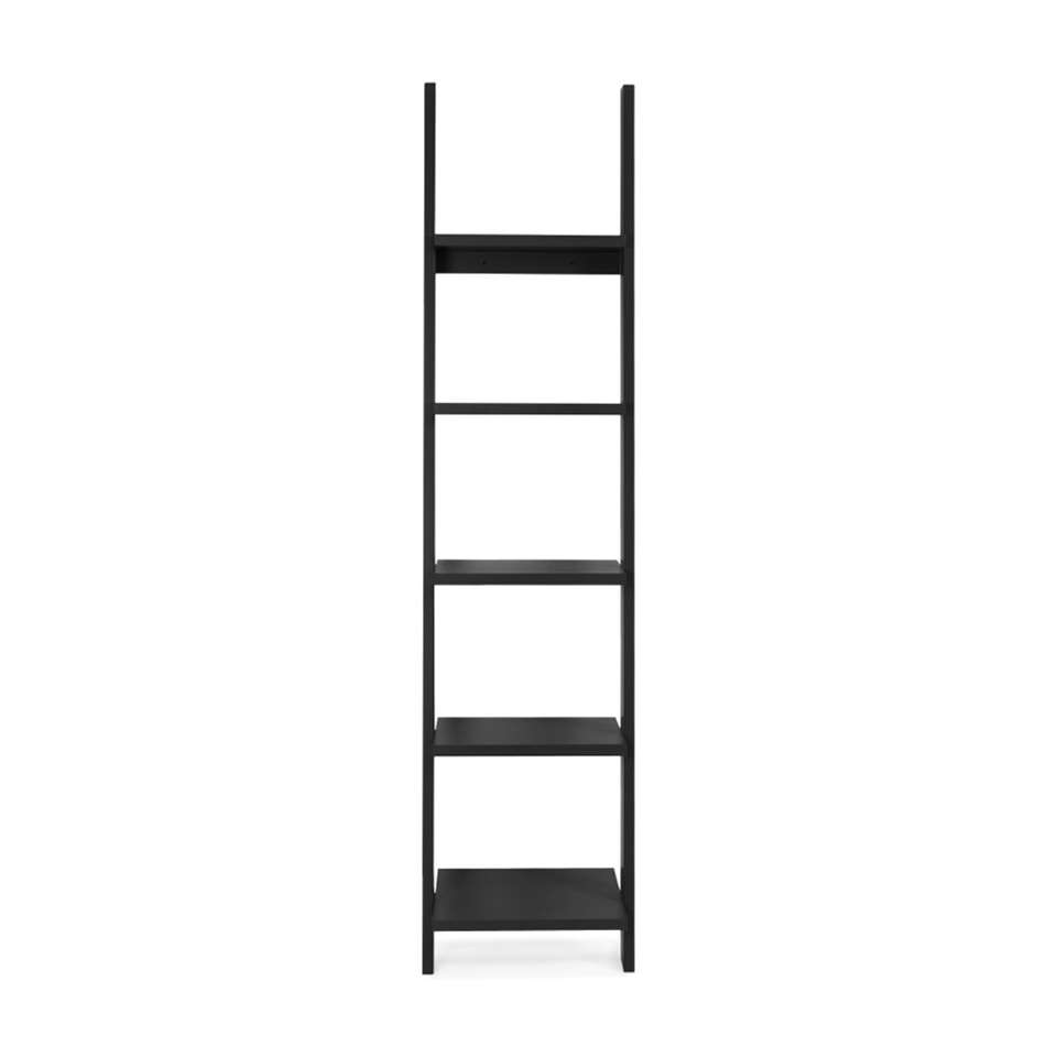 Tenzo wandrek Strada - zwart - 188x45x35 cm - Leen Bakker
