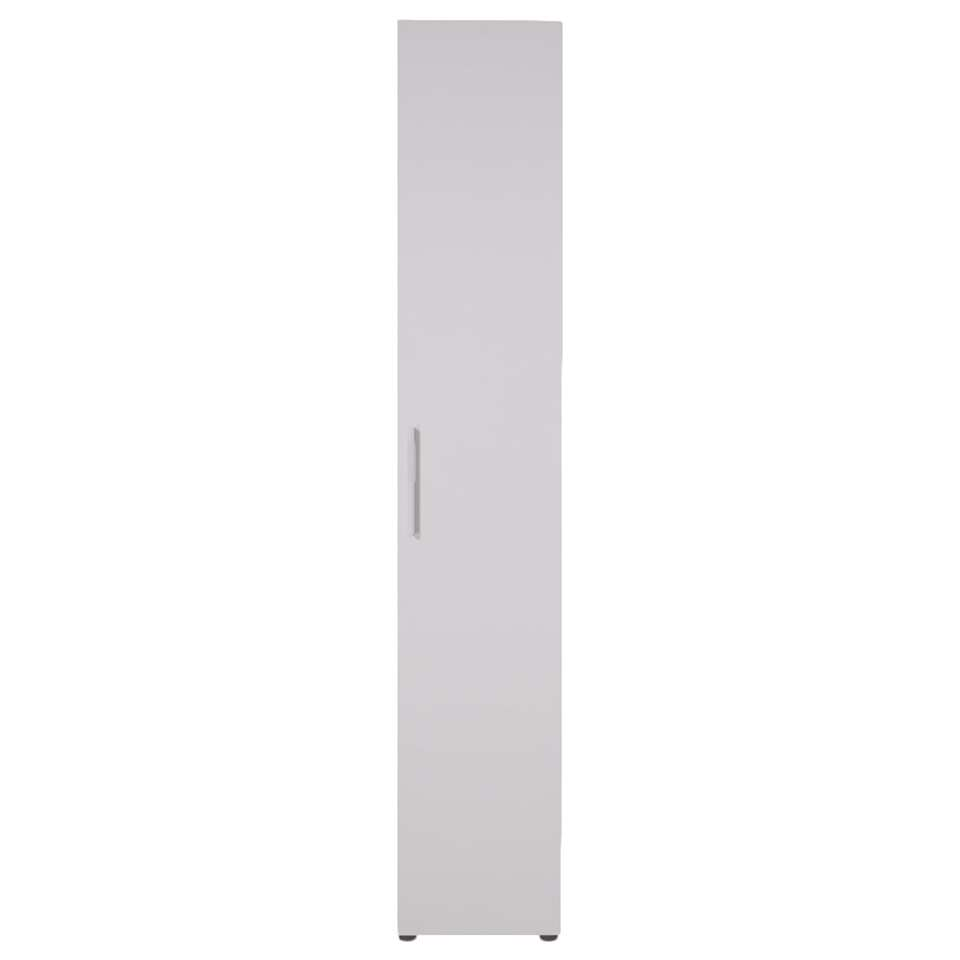 Smartbox kledingkast wit – hang – 220x40x60 cm – Leen Bakker