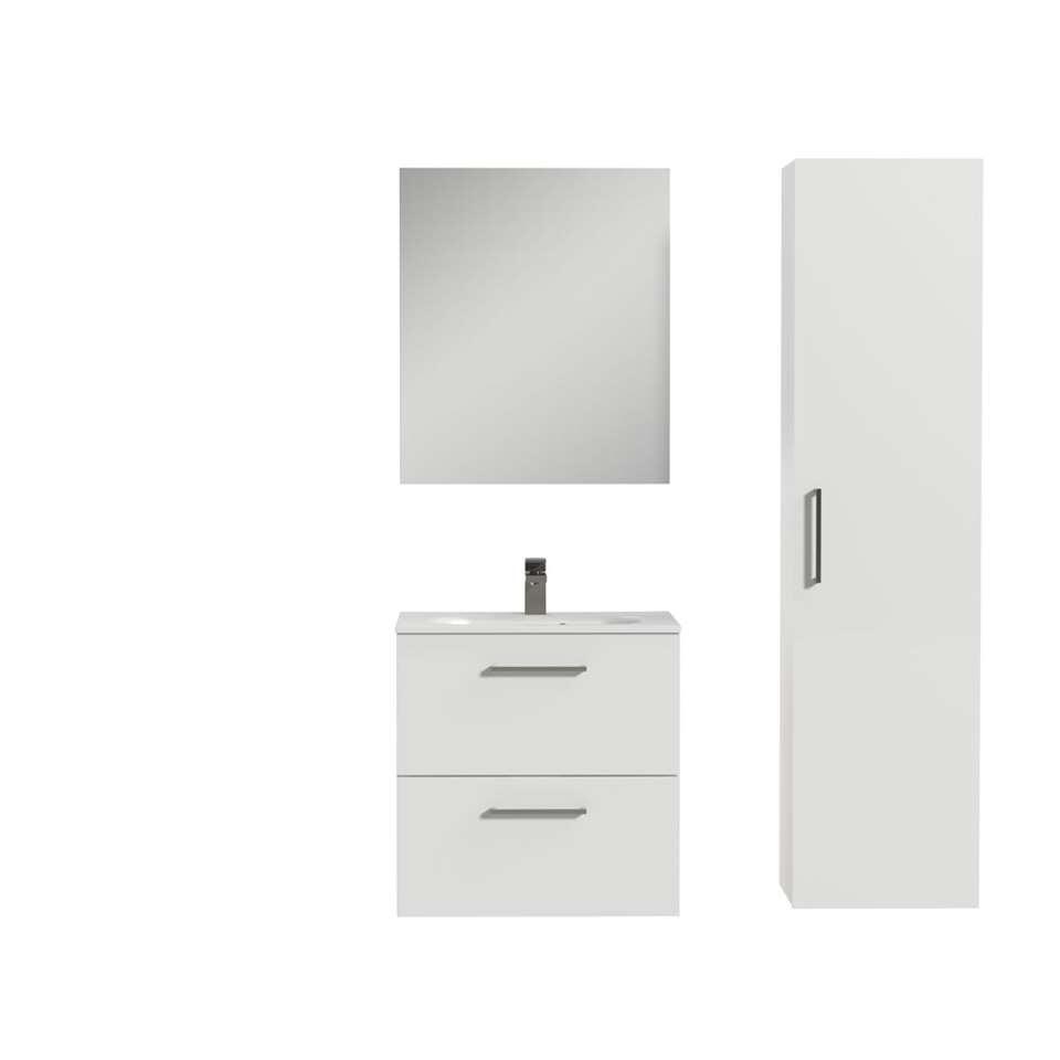 Tiger badkamermeubelset Studio – hoogglans wit – 60 cm – Leen Bakker