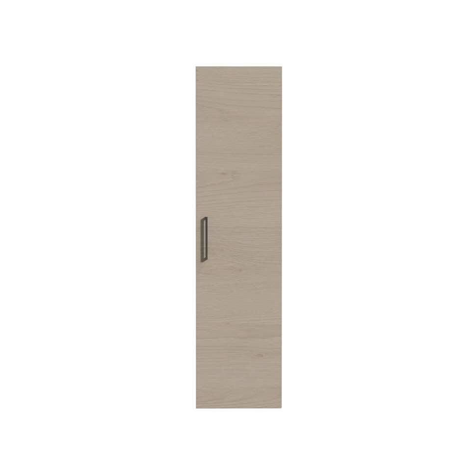 Tiger hoge kolomkast Studio - naturel eik - 40x160x35 cm - Leen Bakker