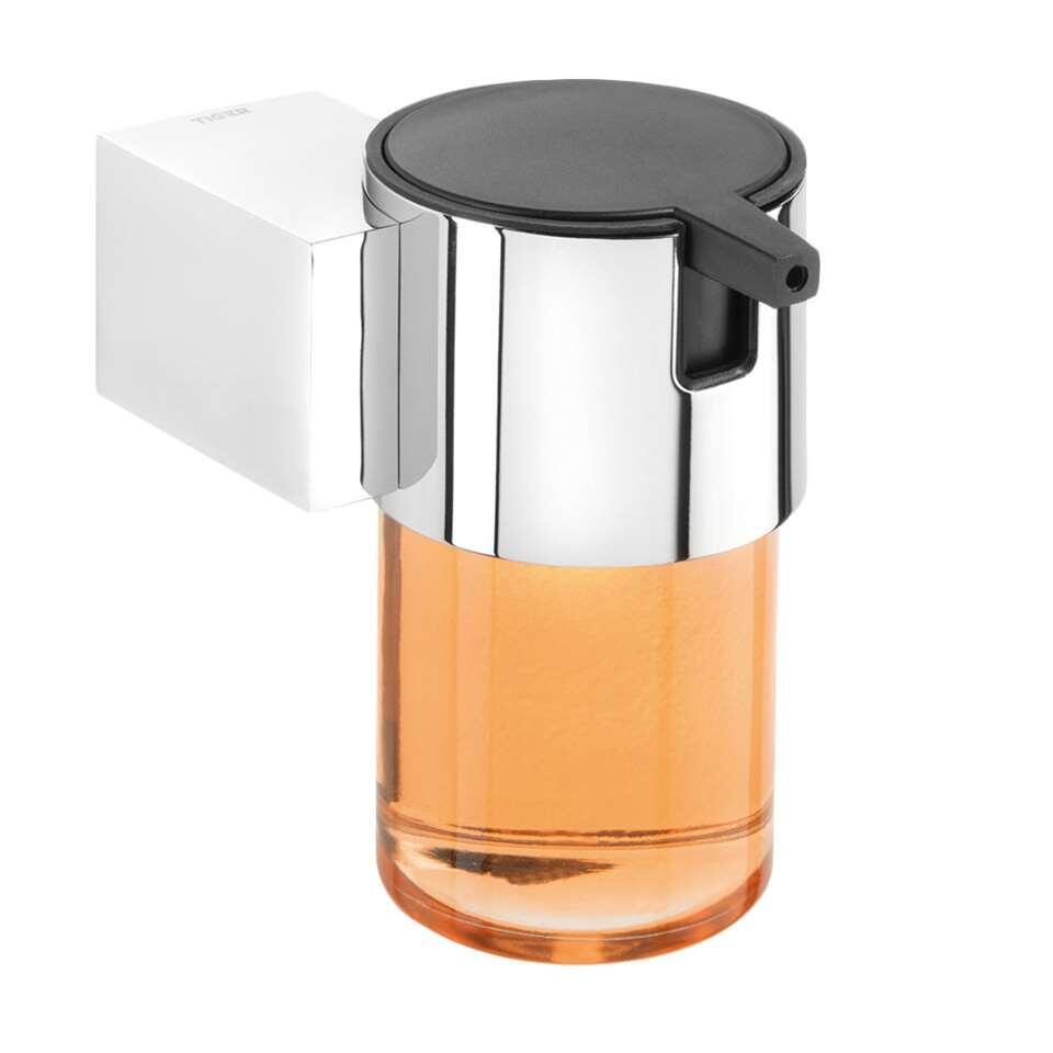Tiger Nomad zeepdispenser - chroom - 11,5x9,3x11 cm - Leen Bakker