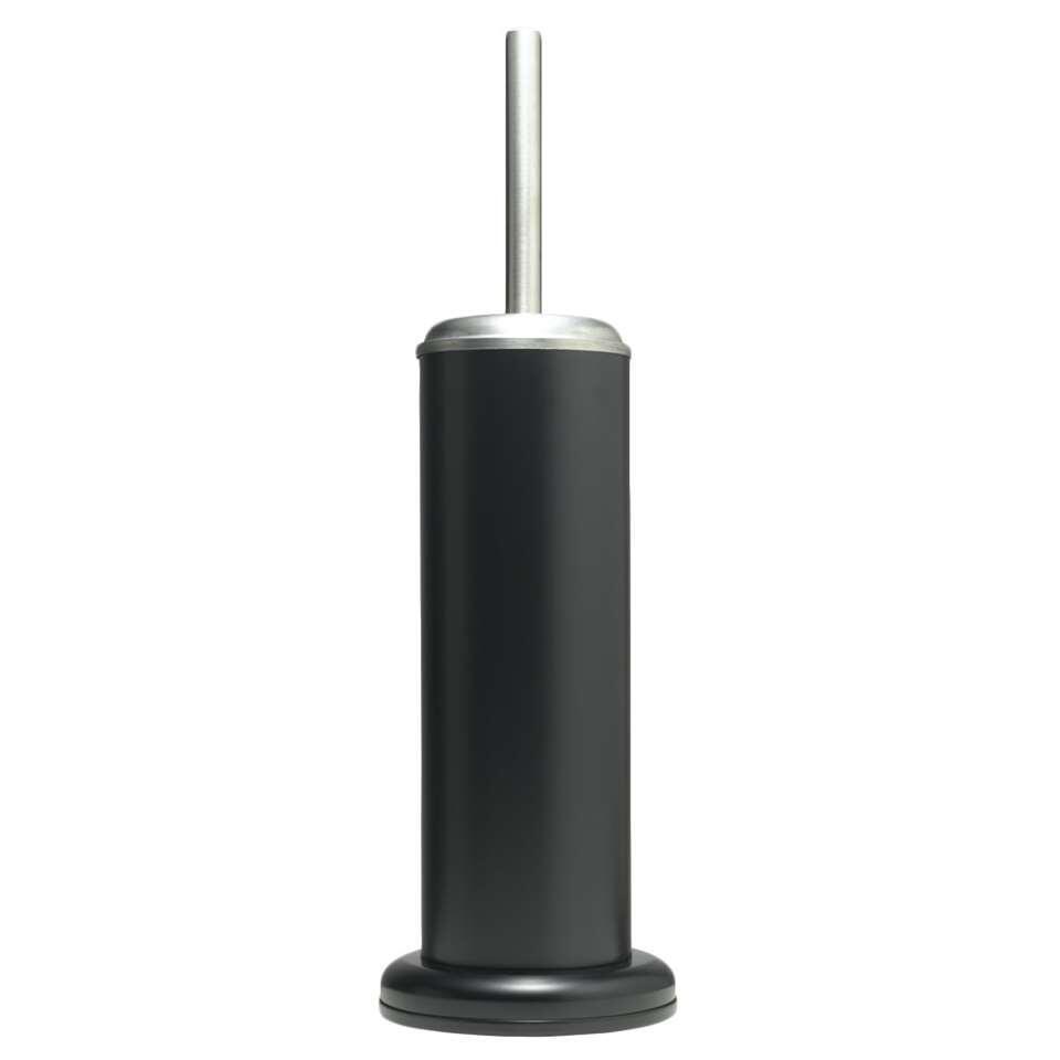 Sealskin toiletborstelgarnituur Acero - zwart - 41x12,6x12,6 cm