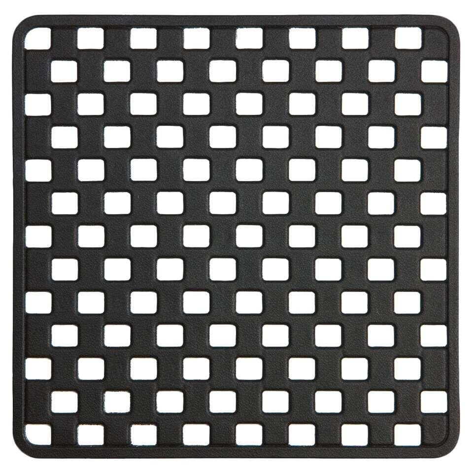 Sealskin veiligheidsmat Doby - zwart - 50x50 cm - Leen Bakker