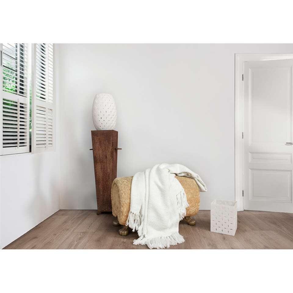 Heckett & Lane plaid Dinant – off-white – 150×220 cm – Leen Bakker