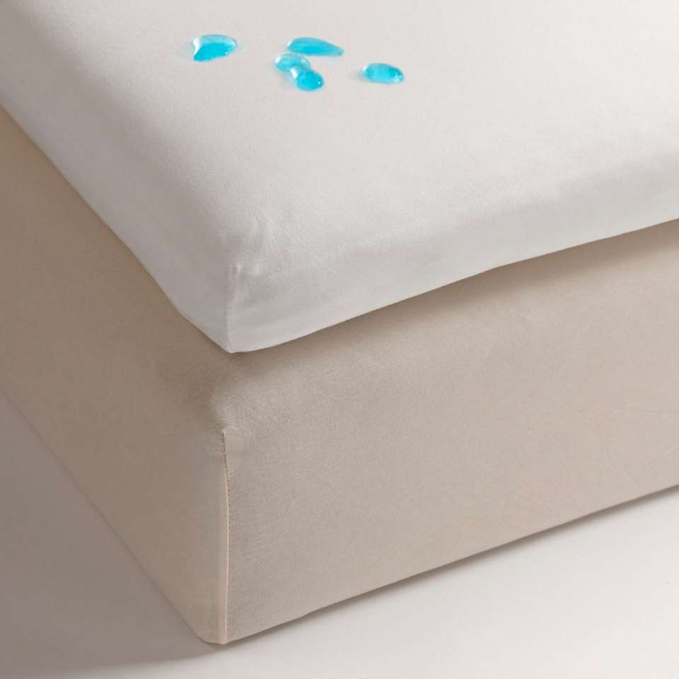 Heckett & Lane molton - topper - waterdicht - 100x210 cm
